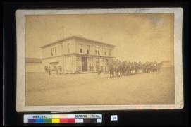 Louis Riel North West Rebellion 1885, 1885. Photograph (13.1 x 21.4cm) CMH no. 996.2.10.