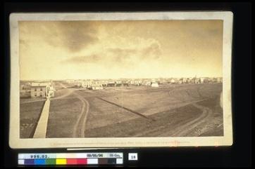 Louis Riel North West Rebellion 1885, 1885. Photograph, (10 x 21.3cm). CMH no. 996.2.18