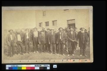Hall & Lowe. Louis Riel North West Rebellion 1885, 1885. Photographic Print, (14.0 x 22.0 cm). CMH no. 996.2.31