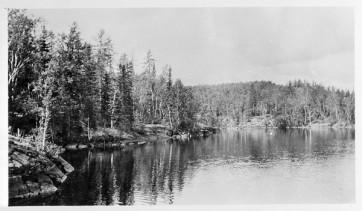 Flin Flon Lake, Date Unknown. Photograph. LAC e002713113