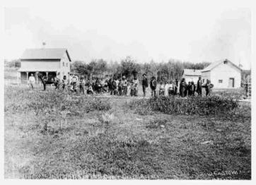 Bill Waiser. Loyal Till Death: Indians and the Northwest Rebellion, 1885. Photograph, (11.5 x 16 mm). SAIN Bill Waiser Fonds, B19-Photos-Cree