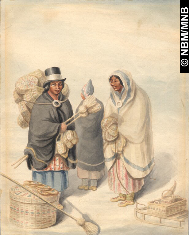 Going to Market c1845