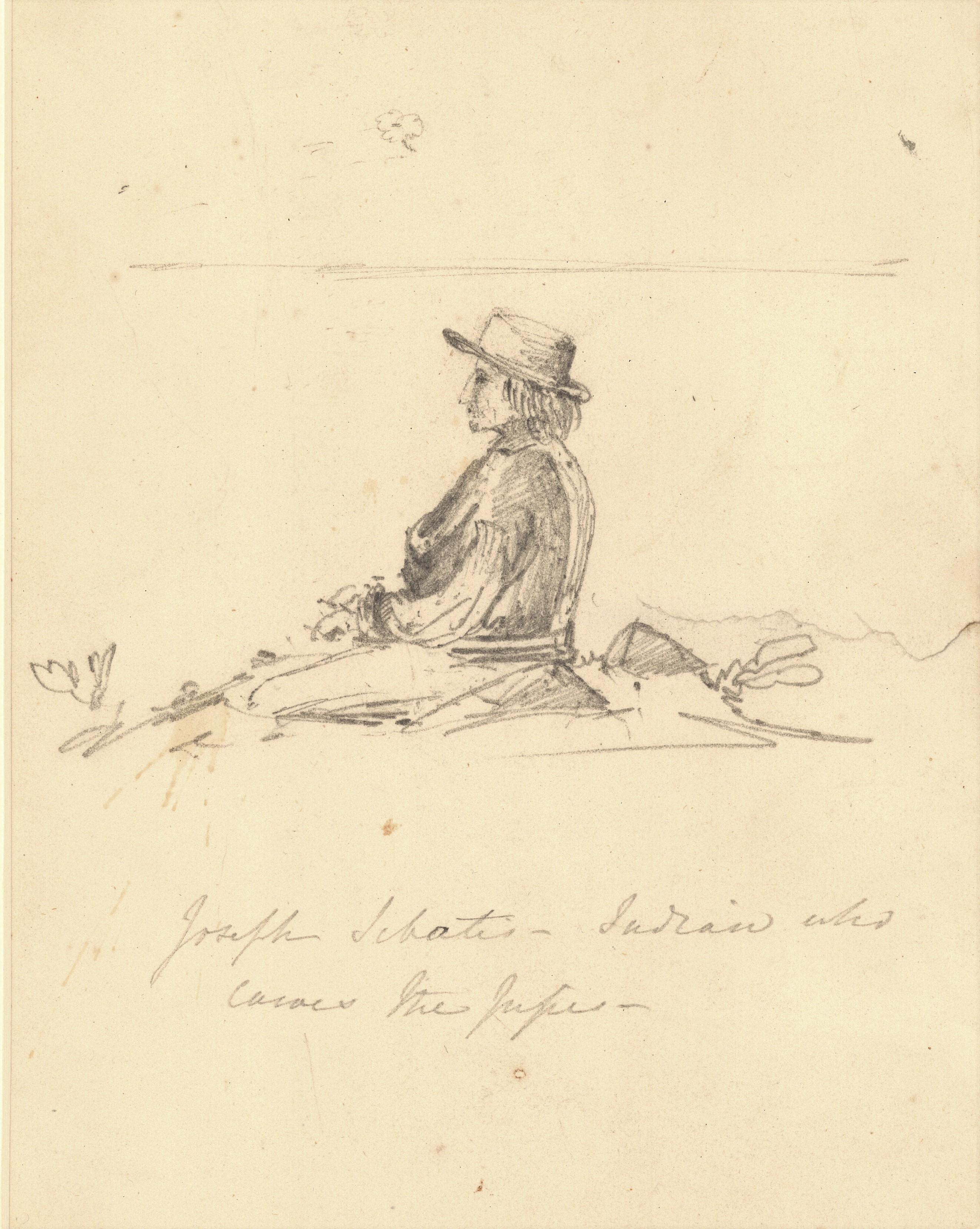 Joseph Sebatis - Indian Who Carves the Pipes_1848_PANB MC4225-MS1-3