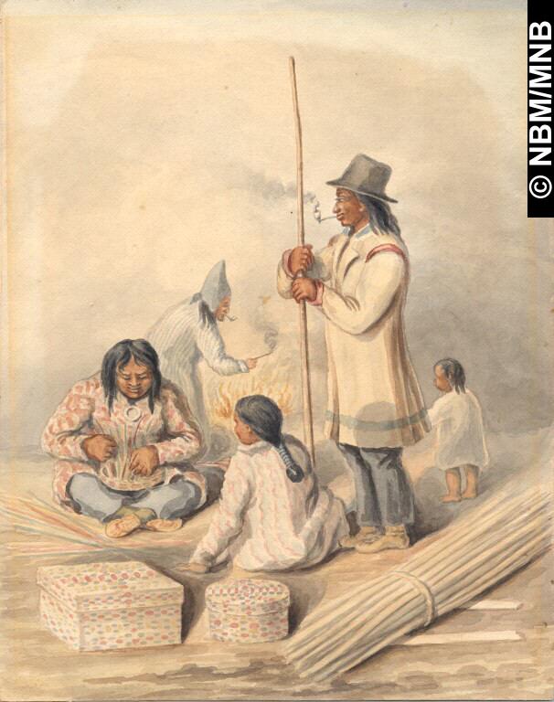 Making Baskets_Stanton c1845