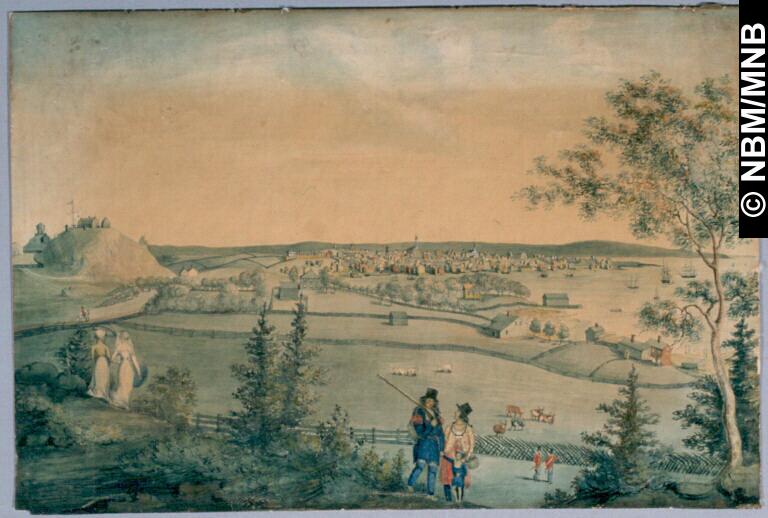 View of St John_Comingo c1814