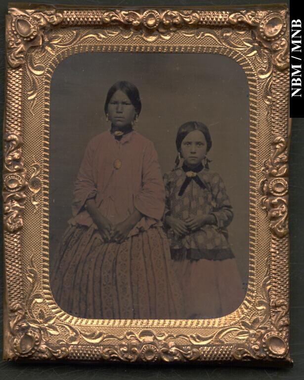 Wolastoqew Girls, 1860